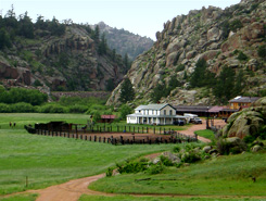 Family owned 2 Bar 7 Ranch, The Colorado Vacation Directory