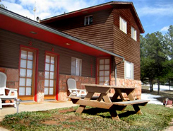 Mountain Cabin at 3B Historic Cabins & Ranch located in the Pikes Peak Area of Colorado