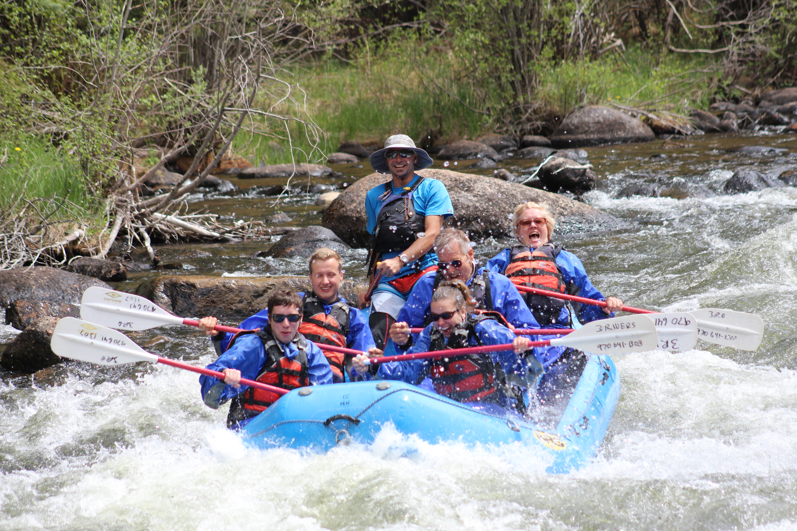 three rivers resort outfitting raft fish kayak gunnison south west colorado colorado