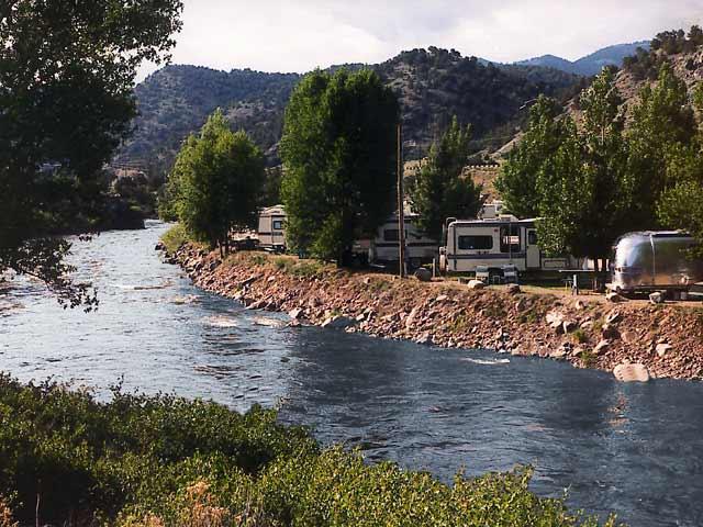 Four Seasons RV Park On The Arkansas River Salida Colorado