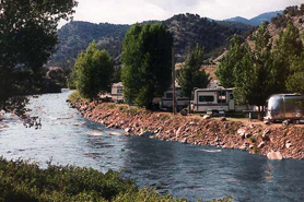Four Seasons RV Park on the Arkansas River, Salida, Colorado