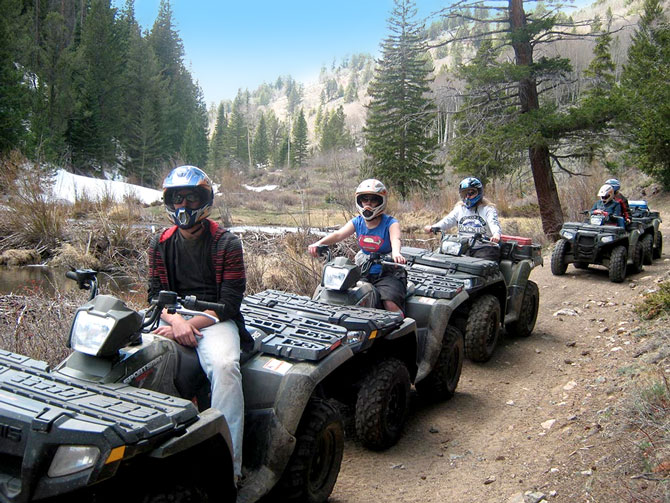 All Season Adventures, Inc, ATV's and Snowmobiles, Colorado Vacation Directory