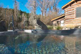 Superieur A Steaming Hot Spring At Antero Hot Springs Cabins In The Buena Vista Area.  Coloradou0027s ...