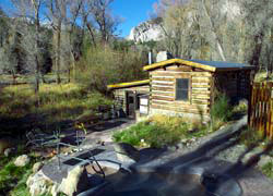 Cottonwood Hot Springs Cabin, Buena Vista, Colorado, The CVD