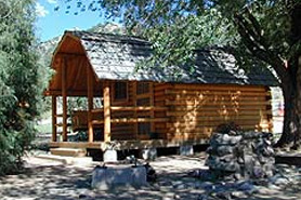Arkansas River KOA cabin, The Colorado Vacation Directory