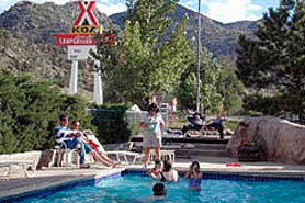 Pool at The Arkansas River KOA & Loma Linda Motel, The Colorado Vacation Directory