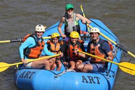 Family enjoys relaxed trip on the Arkansas River near the Royal Gorge and Salida, Colorado