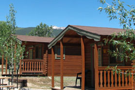 Arrowhead Pont Campground Cabins and RV Park cabins, The Colorado Vacation Directory