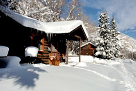 Avalanche Ranch Cabins and Hot Springs in the Winter, The Colorado Vacation Directory