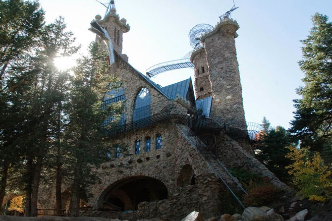 Bishop Castle in the San Isabel Area, Colorado