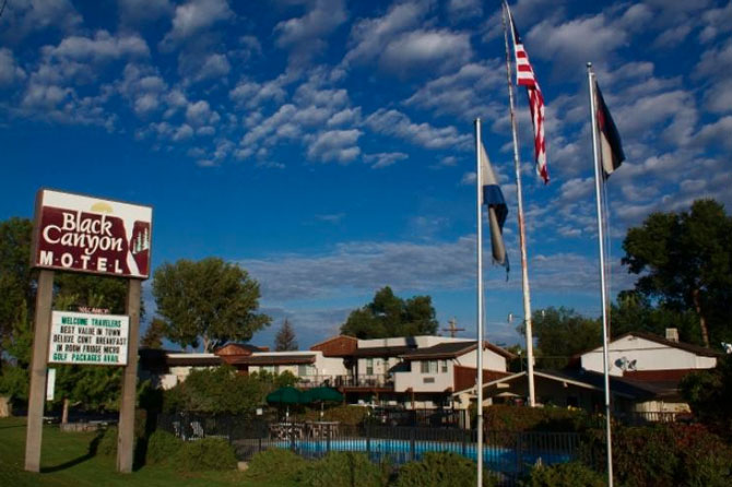 Black Canyon Motel, Montrose, Colorado, The Colorado Vacation Directory