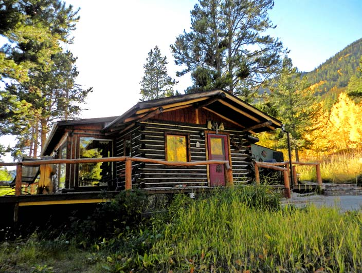 Beau Beautiful Rustic Buckeyeu0027s Cabin Near Leadville, Colorado