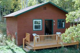 Chair Mountain Ranch Cabins, The Colorado Vacation Directory