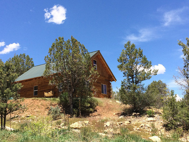 A cabin at Cherry Creek Mountain Ranch, The Colorado Vacation Directory