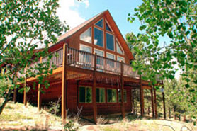 A Colorado Mountain Cabin and Vacation home in the Pikes Peak area, Colorado