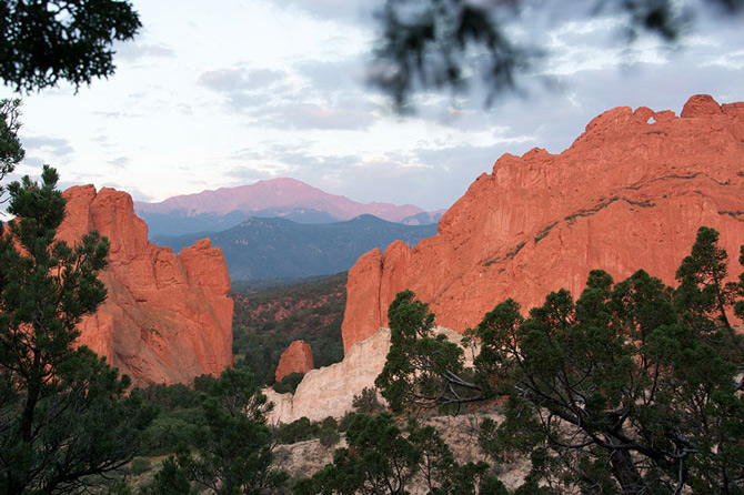 The Garden of the Gods - Colorado Springs vacation destination in Colorado