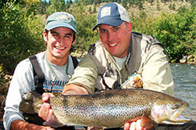 Colorado trout hunters denver mountain area north for Fishing lessons near me