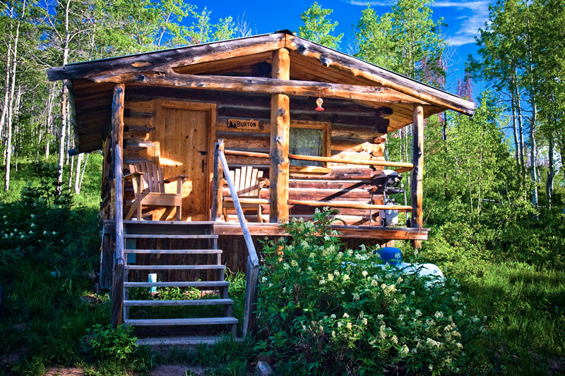 Cabins at historic columbine steamboat springs north for Cabins in steamboat springs