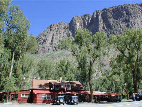 Cottonwood Cove Lodge in Creede Colorado