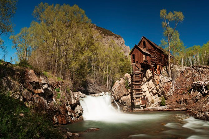Take a jeep tour to the Crystal Mill with Crystal River Jeep Tours near Cyrstal River Valley, Colorado