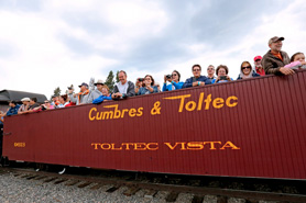 Enjoy the views from an open air box car with the Cumbres & Toltec Scenic Railroad, The Colorado Vacation Directory