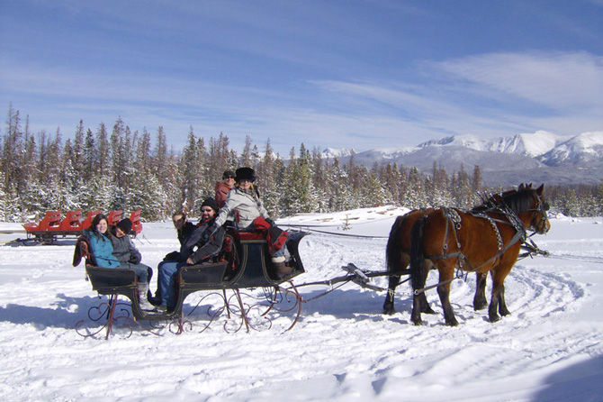 Dashing Thru the Snow Sleigh Rides in Winter Park, Colorado