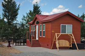 Deluxe Cabin at the Denver West Central City KOA