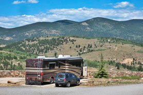 Central City's Premier RV Park with BIG-RIG FRIENDLY Site