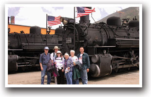 The Durango and Silverton Railroad, Colorado