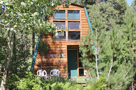 3 Cabins in the Trees at Four Corners Premier Cabin and RV Resort in the Mesa Verde Area, Colorado