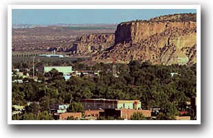 Bluff Above Farmington New Mexico