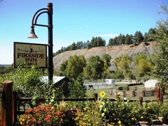 Free Stabling Facilitues when you stat at Fireside Cabins, The Colorado Vacation Directory