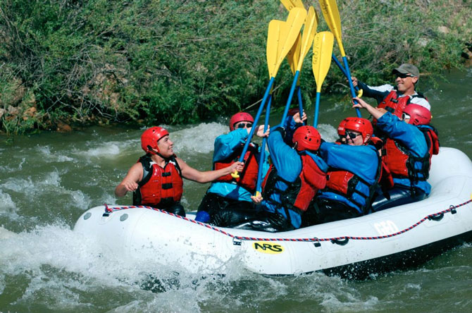 Geo Tours White Water Rafting Trips in Colorado, The Colorado Vacation Directory