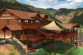 The Canyon Club Event Center in Glenwood Springs Colorado