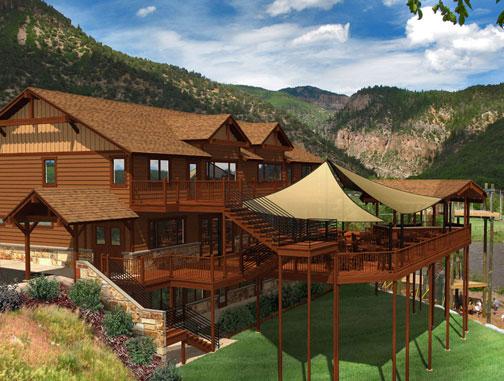 cabins colorado glenwood in co rental cabin near springs rentals