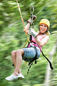 Zipline, adventures at Glenwood Canyon Resort in Colorado