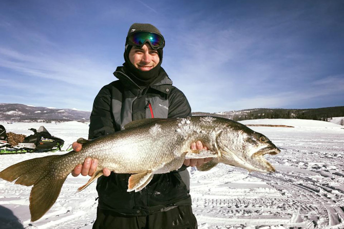 Granby chamber of commerce grand lake north central for Lake granby fishing report
