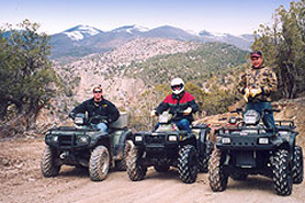 ATVing with High Canyon Adventures, Glenwood Springs and Vail Area, Colorado