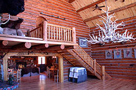 The great room at High Canyon Adventures, The Colorado Vacation Directory