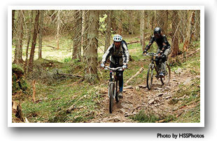 Great mountain biking in and near Hot Sulphur Springs, Colorado