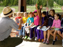 Junior Ranger Program, Rocky Mountain National Park, Estes Park, Grand Lake, Colorado Vacation Directory