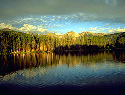 Grand Lake at Rocky Mountain National Park, Colorado Vacation Directory
