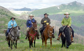 Horseback riding in the mountains of Colorado, The Colorado Vacation Directory