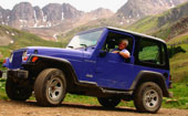 Jeep tour in the Colorado Rocky Mountains, The Colorado Vacation Directory