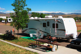 RV Site, Jefferson County Fairgrounds, Colorado