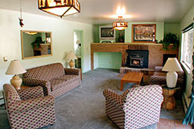 Non smoking interior at Lakeside Cottages in the Pikes Peak Area