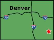 Lamar Colorado Map | Eastern CO Maps | Colorado Vacation Directory