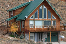 Luxury Lodge at Lone Pine Lodge near Leadville and Twin Lakes, Colorado
