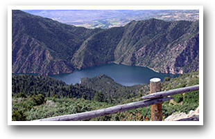 west elk loop scenic byway map colorado vacation directory