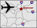Colorado Airports Map